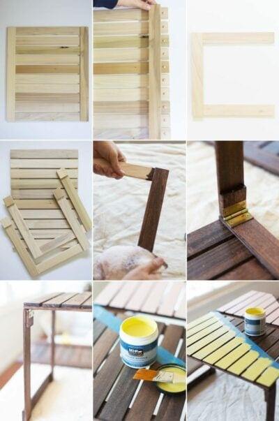 DIY Mini Picnic Table Tutorial