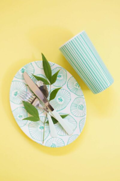 DIY Paint Dipped Flatware