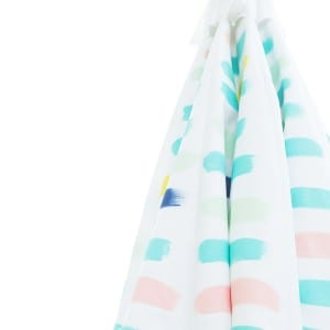 DIY Painted Pattern Patio Umbrella