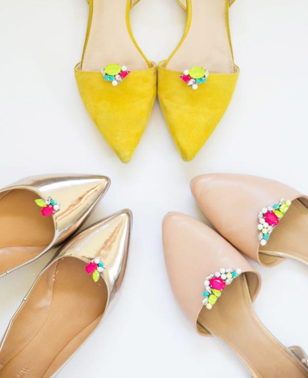 DIY Gemstone Shoe Clips thumbnail