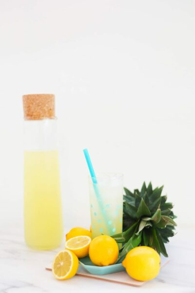 Fresh Pineapple Lemonade