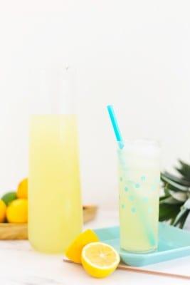 Fresh Pineapple Lemonade