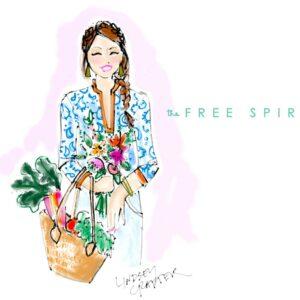 August's Lovely Girl // The Free Spirit thumbnail