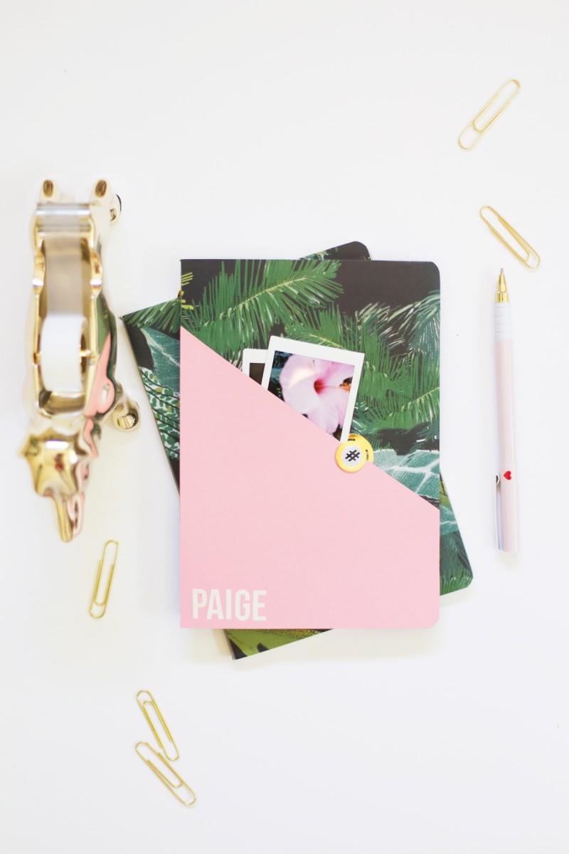 DIY Personalized Noteboks