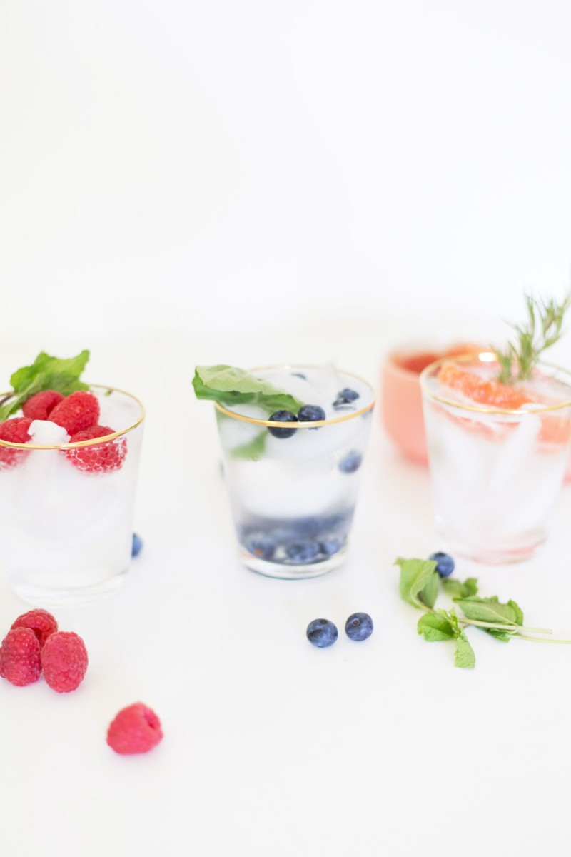 Fruit and Herb Infused Water Bar