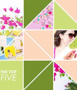 Top Five // Blogging thumbnail