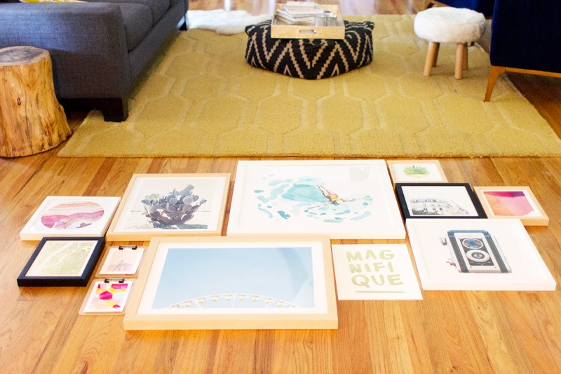 How To Create a Gallery Wall » Lovely Indeed