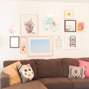 How To Create a Gallery Wall thumbnail