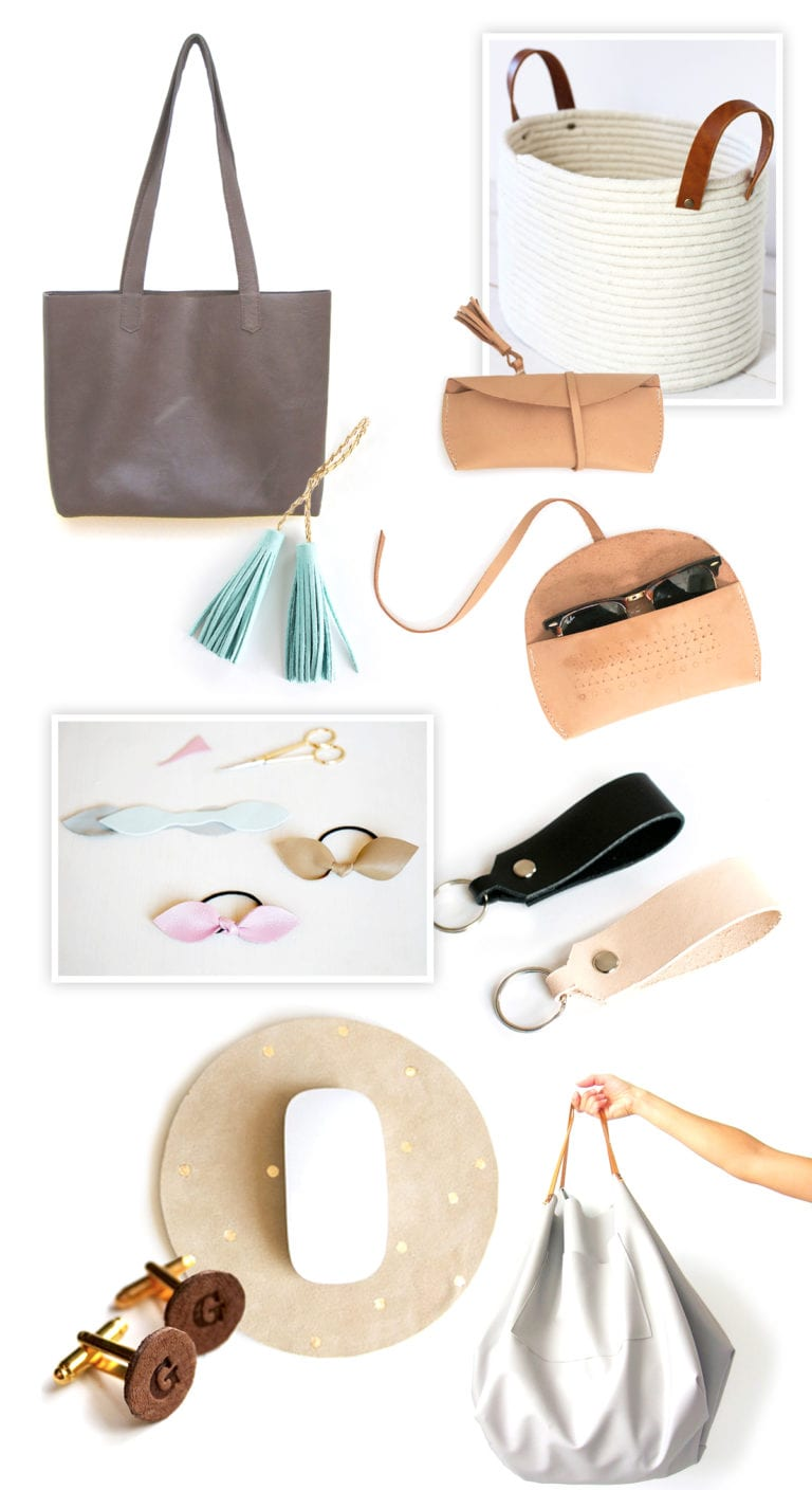 9 Awesome Leather DIYs