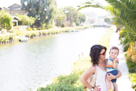 Mom and Baby, Venice Beach