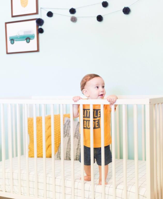 DIY Crib Sheet with This Little Street thumbnail
