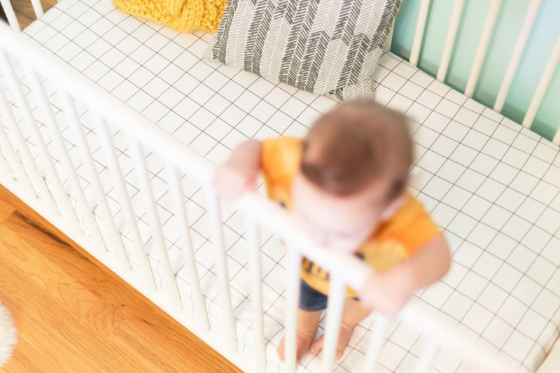 DIY Fitted Crib Sheet