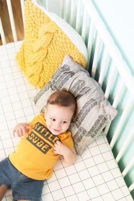 DIY Fitted Crib Sheet