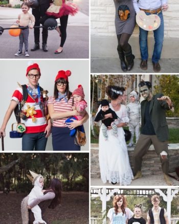 DIY Family Halloween Costumes