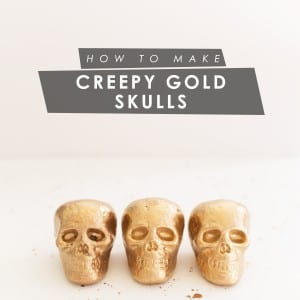 DIY Gold Skulls thumbnail