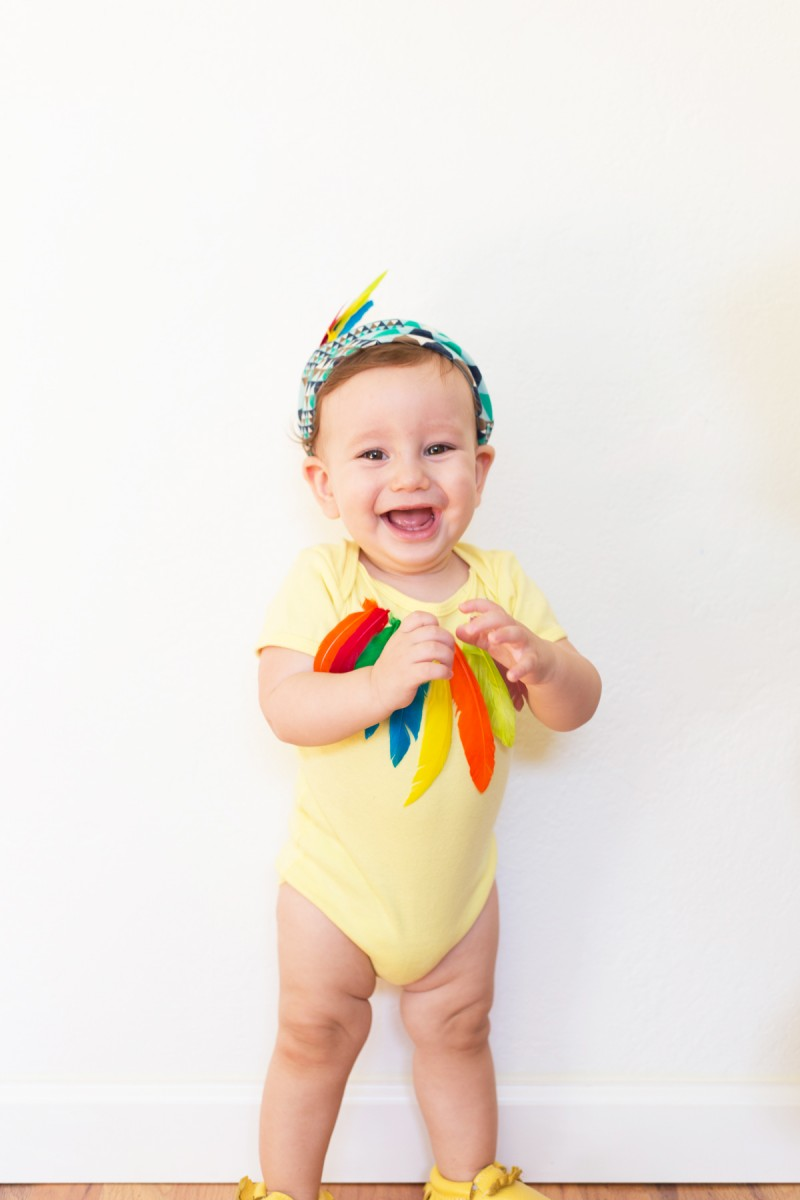 DIY Mom and Baby Bird Halloween Costume  sc 1 st  Lovely Indeed : baby bird halloween costume  - Germanpascual.Com