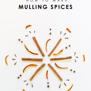 How to Make Your Own Mulling Spices