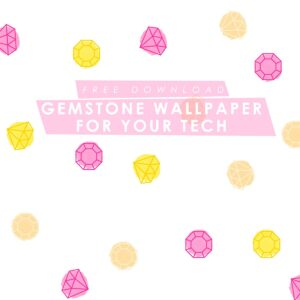 Free Gemstone Wallpaper for Desktop, iPad, and iPhone