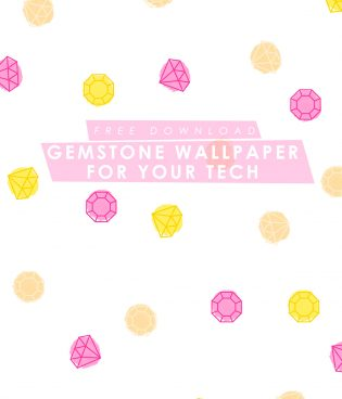 Free Gemstone Desktop + iPhone Wallpaper thumbnail