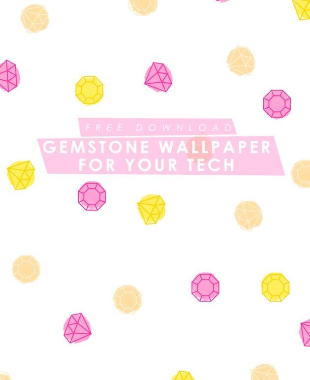 Free Gemstone Desktop + iPhone Wallpaper thumbnail