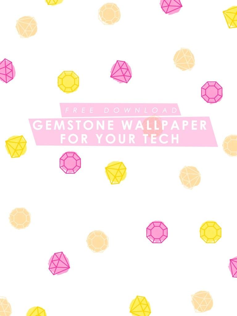 Free Gemstone Wallpaper for Desktop, iPad, and iPhone