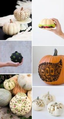 12 No-Carve Pumpkin Ideas for Halloween