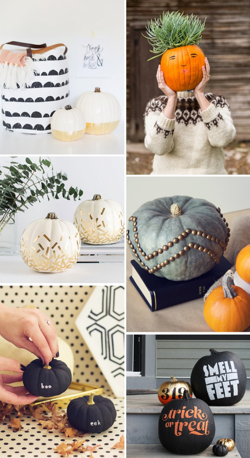 12 No-Carve Pumpkin Ideas for Halloween