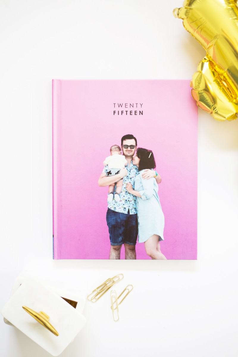 Photo Book Cover Inspiration : How to make a yearly family photo book lovely indeed