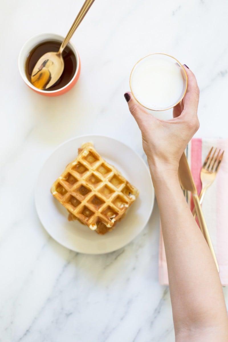Maple Chicken and Waffle Sandwich Recipe