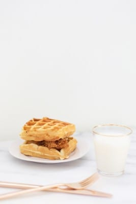 Maple Chicken and Waffle Sandwich Recipe