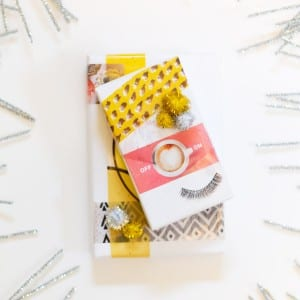 DIY Fun Image Transfer Collage Gift Wrap thumbnail
