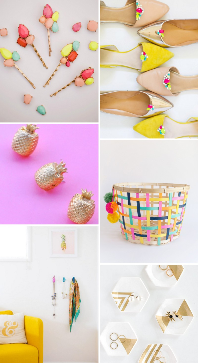 Colorful DIY Holiday Gifts