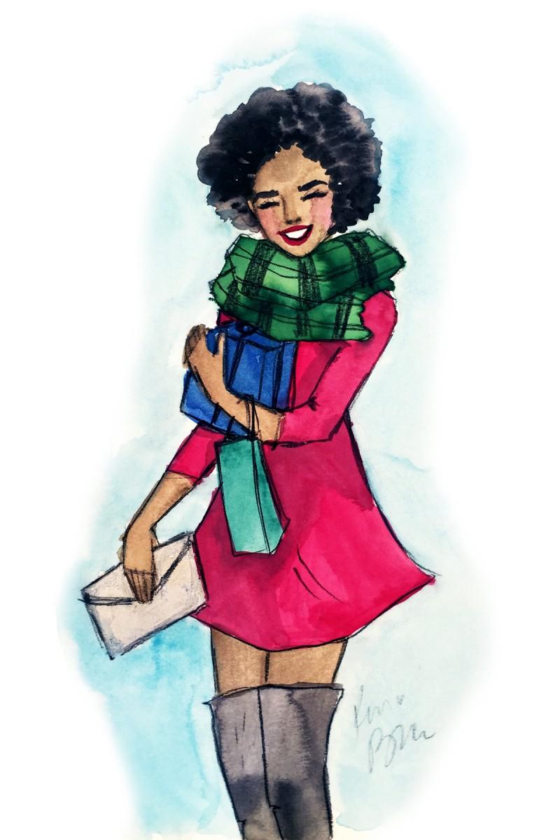 December Lovely Girl