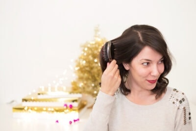 Easy Holiday Hairstyle