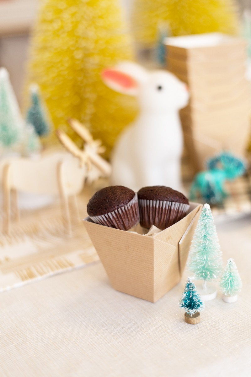 Winter Woodland Themed First Birthday Party