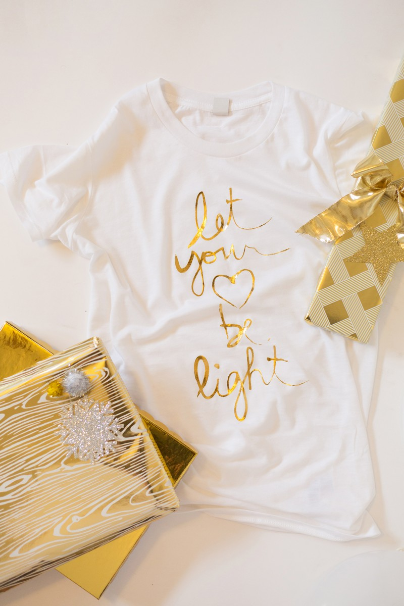 Let Your Heart Be Light Tee
