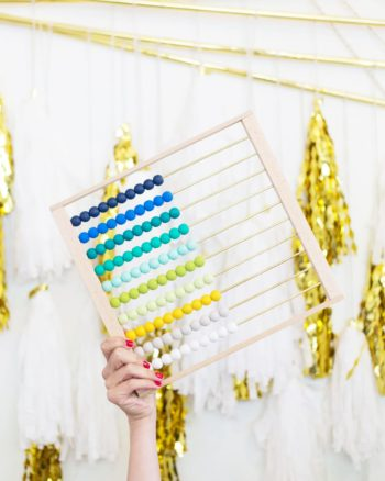 How to Make an Ombre Abacus
