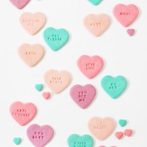 DIY Conversation Heart Sugar Cookies thumbnail