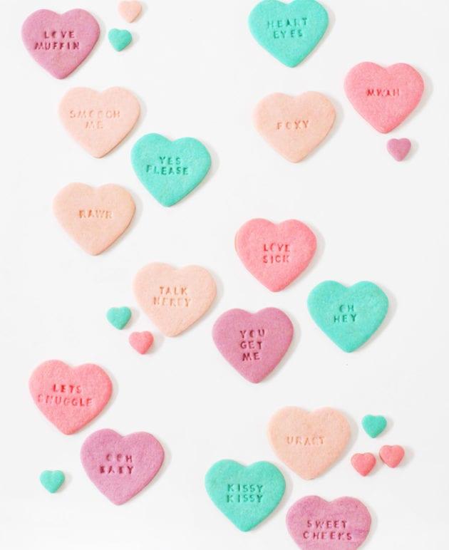 DIY Conversation Heart Sugar Cookies thumbnail
