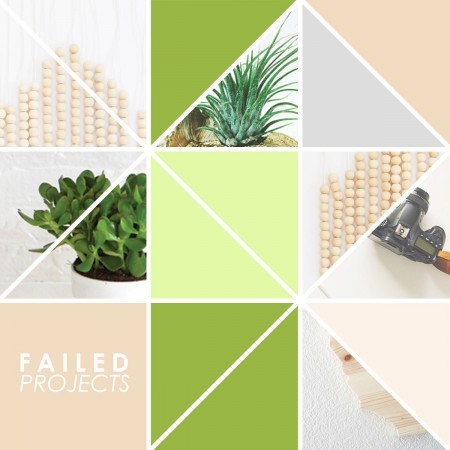 Blogging Project DIY Failures