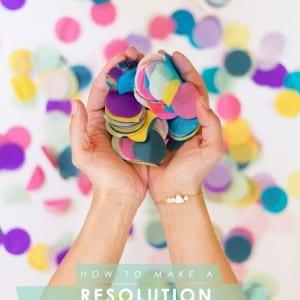 DIY Resolution Reminder Bracelet with Handmade Beads thumbnail
