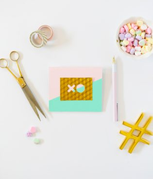 DIY Modern Valentine Pop-Up Cards thumbnail