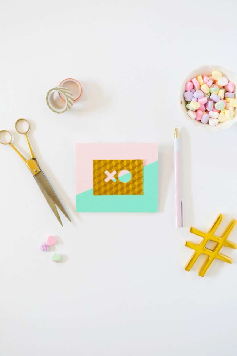 How to Make a Modern Pop-Up Card for Valentine's Day