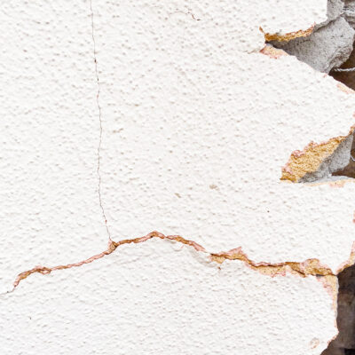 Cracks in Stucco