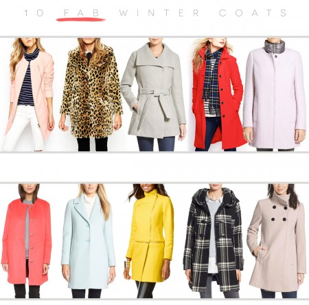 10 Fab Winter Coats