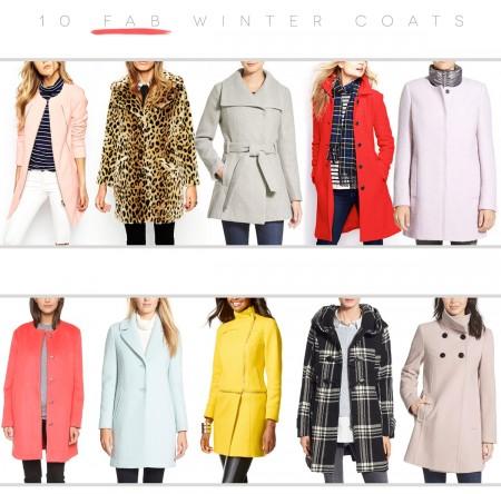 10 Fab Winter Coats