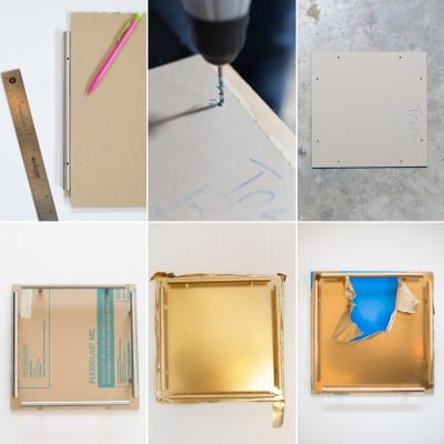 How to Make a Gold Bar Acrylic Tray