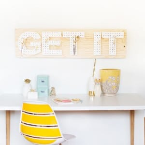 DIY Pegboard Words thumbnail
