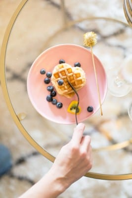 How to Make Heart Shaped Waffles for Valentine's Day