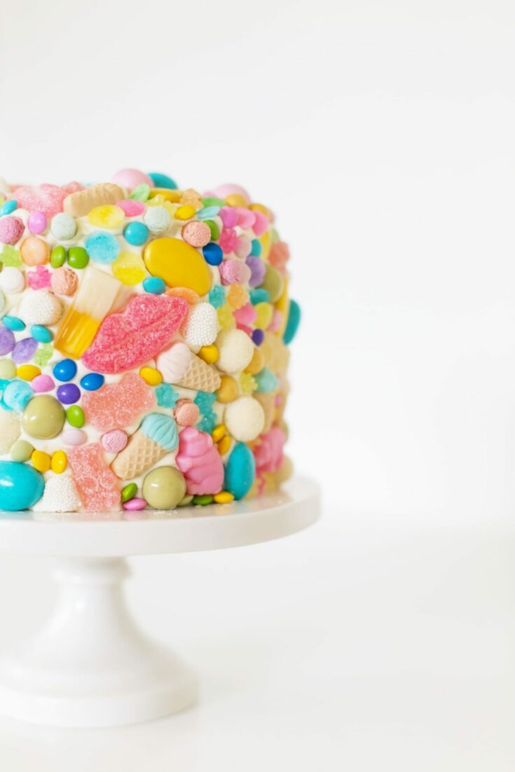 Leap Year Candy Cake
